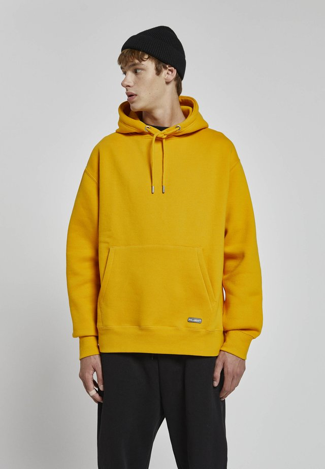 Sweat à capuche - light yellow
