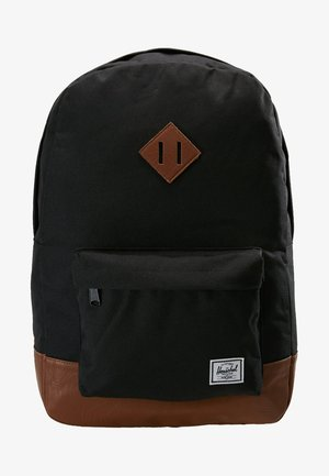 HERITAGE - Rugzak - black/tan