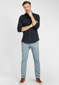 PROFUOMO - JAPANESE KNITTED - Shirt - navy - 1