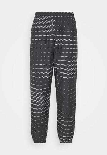 MONO - Pantaloni sportivi - black/white
