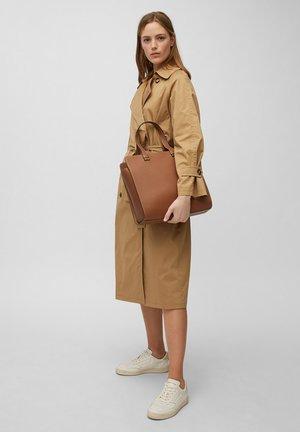 Tote bag - maroon brown