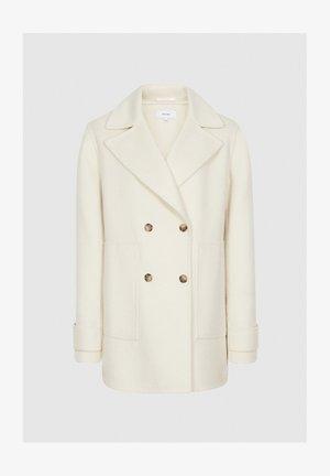 AMBER - Short coat - cream