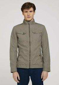 TOM TAILOR - BIKER - Light jacket - coastal fog beige - 0