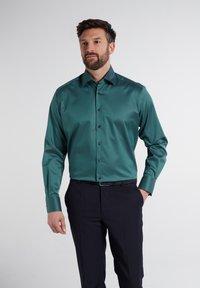 Eterna - Formal shirt - petrol - 0