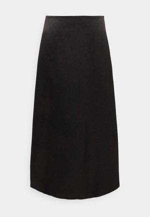 ANGELLO - Áčková sukně - black