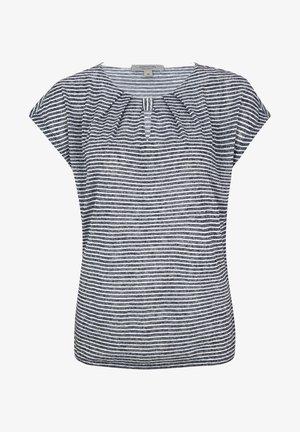 Print T-shirt - marine stripes
