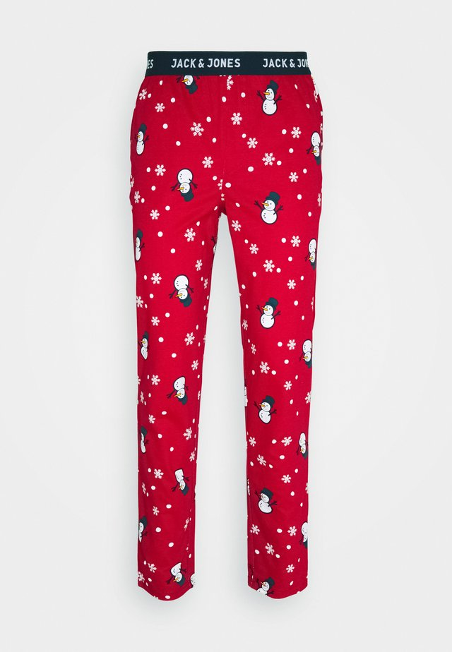JACX-MAX LOUNGE PANT - Pyjamasbukse - chili pepper