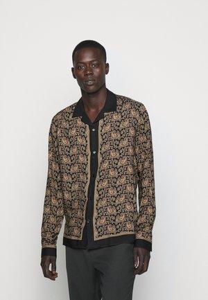 CHEMISE - Overhemd - black/gold