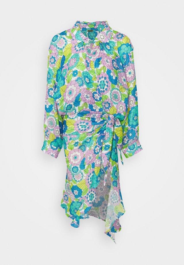 VIVI - Day dress - flower blue