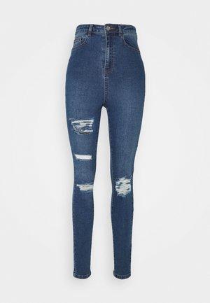ASSETS DISTRESS SINNER - Straight leg jeans - blue