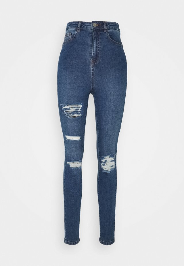 ASSETS DISTRESS SINNER - Jeans Straight Leg - blue
