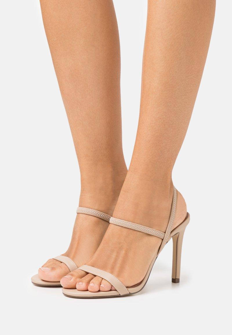 Call it Spring - ZAYWIEN - High heeled sandals - medium beige