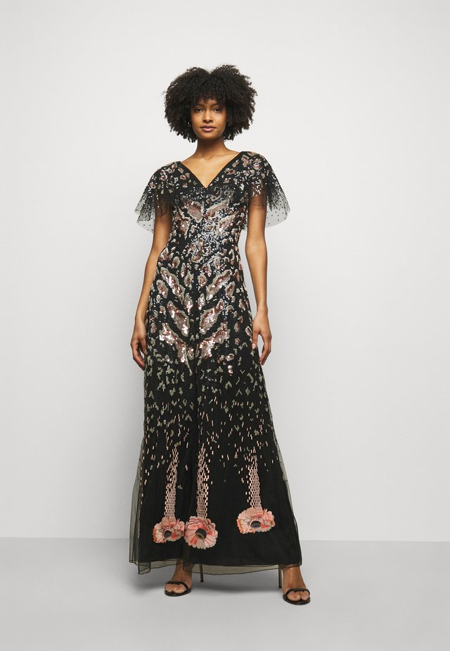 CANDY LONG DRESS - Robe de cocktail - black mix