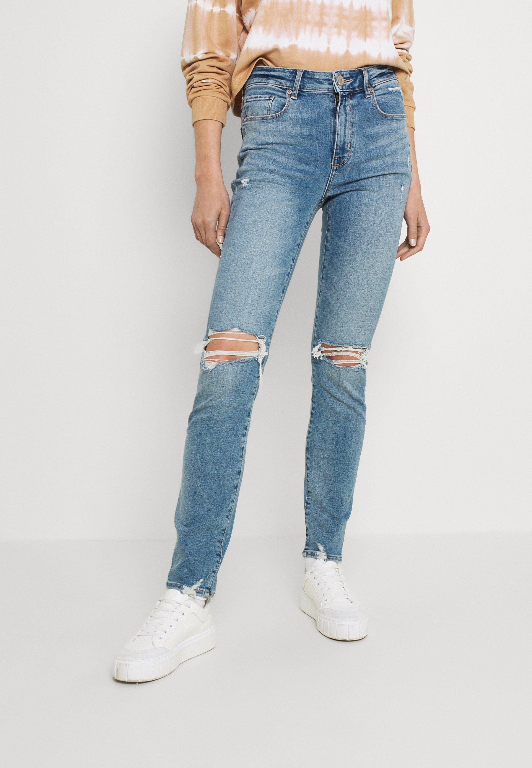 Damen HI RISE SKINNY - Jeans Skinny Fit