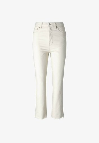 Straight leg jeans - unbleached natural bull denim