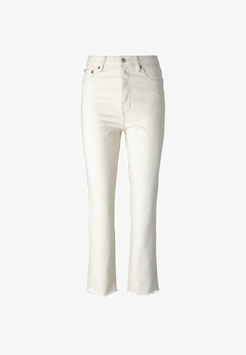 TOM TAILOR DENIM - Straight leg jeans - unbleached natural bull denim