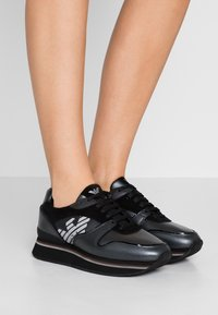 Emporio Armani - CHRISTINA - Trainers - black - 0
