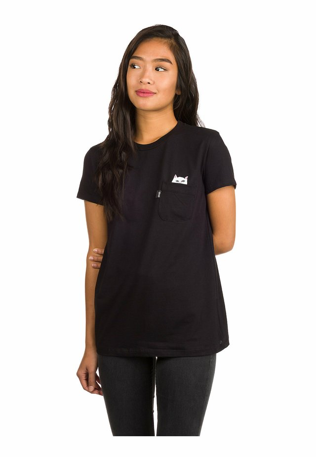 LORD NERMAL POCKET - Print T-shirt - black