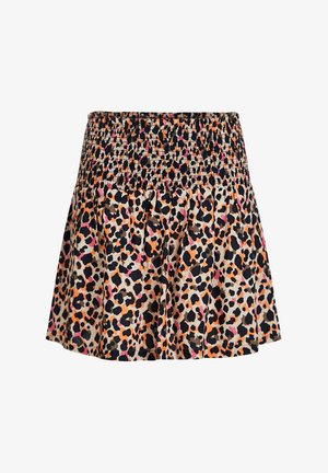 MET LUIPAARDDESSIN - A-line skirt - multi-coloured