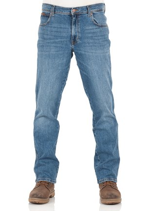 TEXAS STRETCH - Straight leg jeans - blue whirl