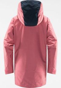 Haglöfs - LUMI INSULATED PARKA - Snowboard jacket - tulip pink/tarn blue - 6