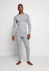 ODLO - ACTIVE WARM ECO BOTTOM LONG - Unterhose lang - grey melange - 1