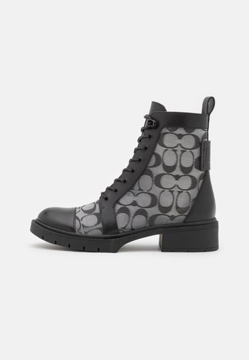 LANA BOOTIE - Lace-up ankle boots - black