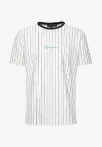 Mennace - STRIPE TEE - T-shirt med print - white - 4