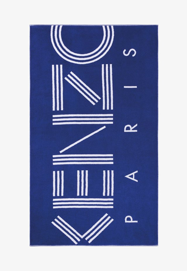 Beach towel - royal blue