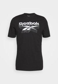 Reebok - TEE - T-shirts print - black - 4