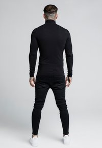 SIKSILK - ROLL NECK LONG SLEEVE - Camiseta de manga larga - black - 2