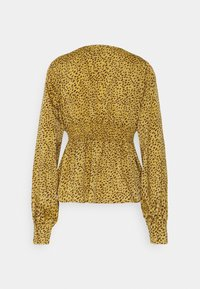 Missguided Tall - SHIRRED WAIST BLOUSE - Blouse - mustard - 1