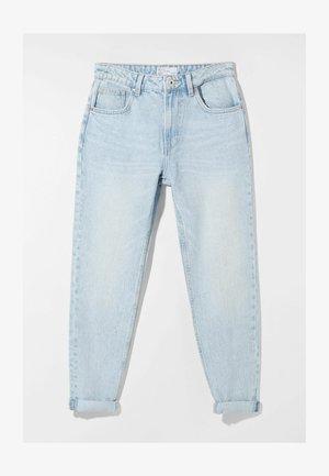 MOM FIT - Jeans baggy - blue denim