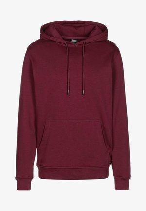 Bluza z kapturem - burgundy