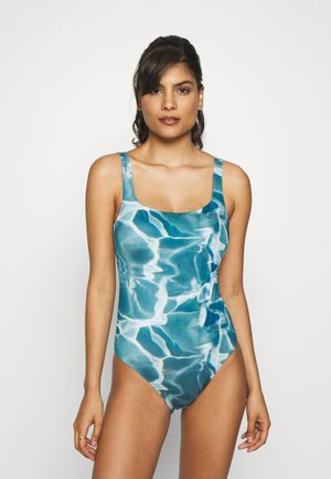 DESERT WATER SWIMSUIT - Plavky - blue