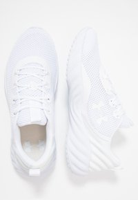 Under Armour - CHARGED WILL - Neutral running shoes - white - 1
