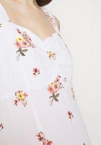 Dorothy Perkins Maternity - CAMI FLORAL CRINKLE DRESS - Maxi dress - ivory - 5