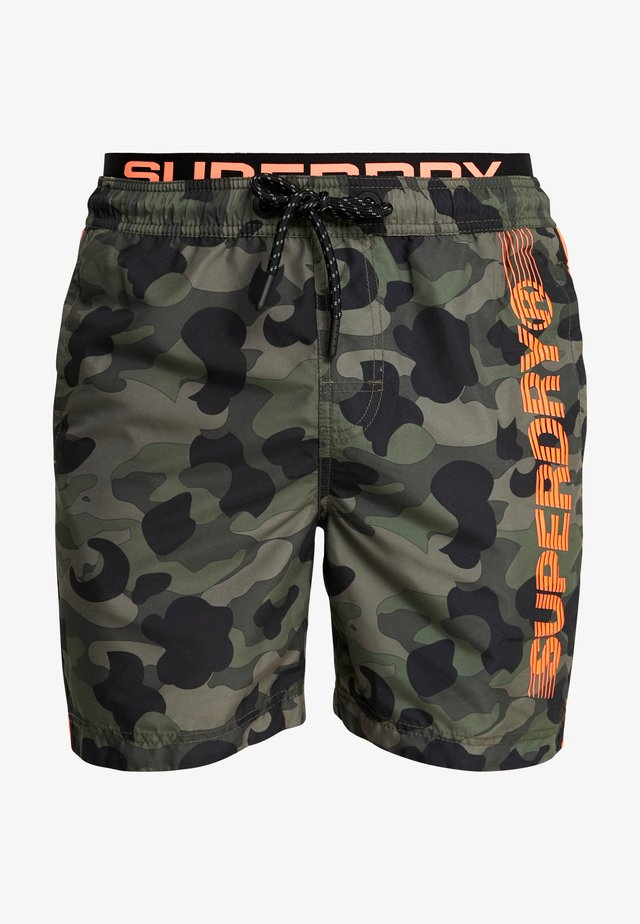STATE VOLLEY SWIM  - Zwemshorts - olive camo
