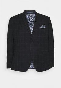 Isaac Dewhirst - WINDOWPANE SUIT PLUS - Suit - blue - 1