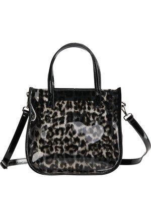 Handbag - anthracite/off-white