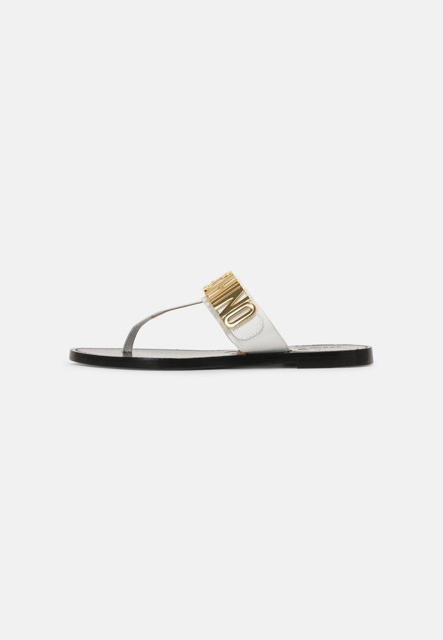 Sandalias de dedo - bianco