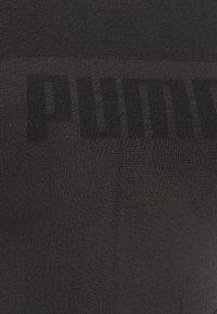 Puma - EVOSTRIPE EVOKNIT CROP - Top - black - 2