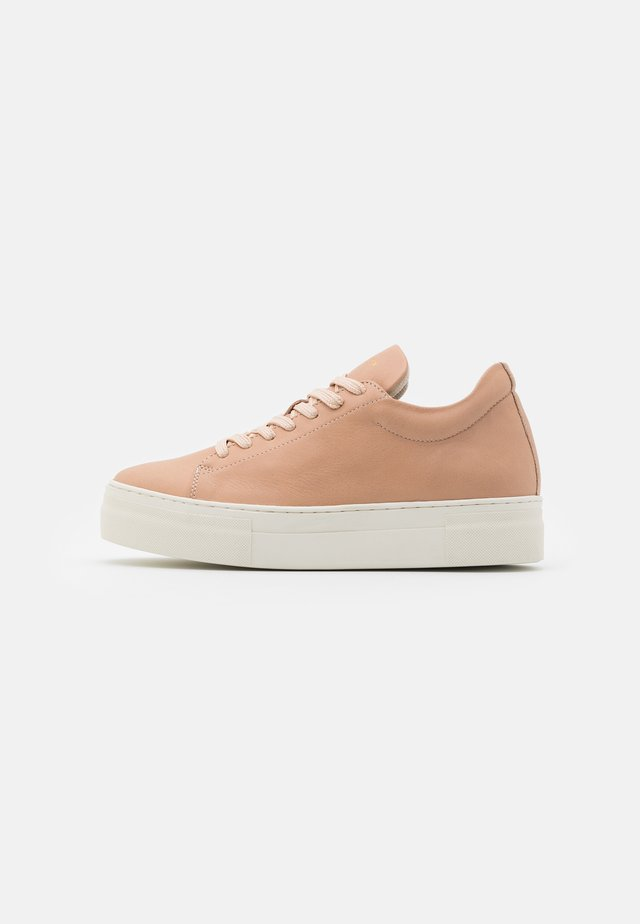 SLFHAILEY TRAINER - Baskets basses - nude