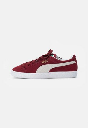 SUEDE CLASSIC - Sneakers laag - cabernet-puma white