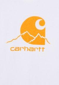 Carhartt WIP - OUTDOOR  - Print T-shirt - white/pop orange - 2