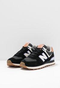 New Balance - WL574 - Sneakersy niskie - black - 4