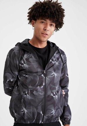 SLIM FIT - Light jacket - anthracite