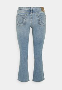 True Religion - NEW HALLE KICK - Flared Jeans - blue denim - 1