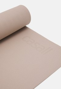 Casall - EXERCISE MAT BALANCE 4MM  - Fitness/yoga - taupe grey - 3
