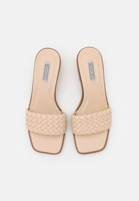 Nly by Nelly - BRAIDED SLIP IN - Heeled mules - creme - 5